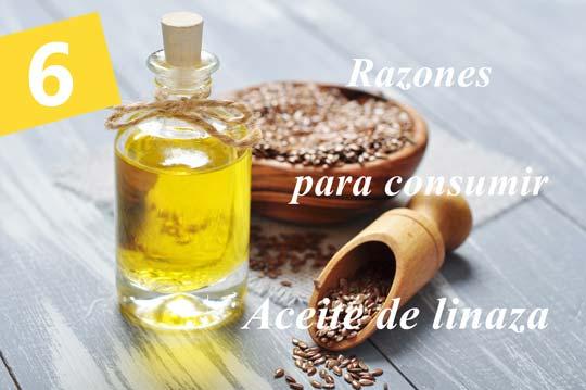 aceite de linaza rico en antioxidante