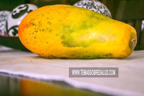 Las enzimas de papaya favorecen la digestión