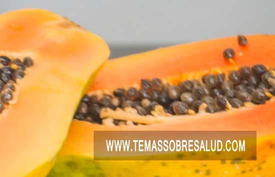 Enzimas de papaya en la digestión
